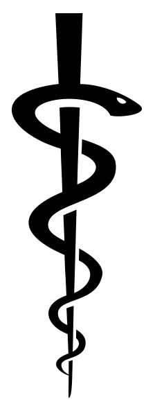 [Rod of Asclepius Medical Symbol]
