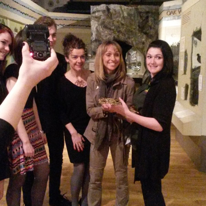 [Spice-Up Your Event: Geoff with Michaela Strachan, Derby Museum - Meet The Beasts]